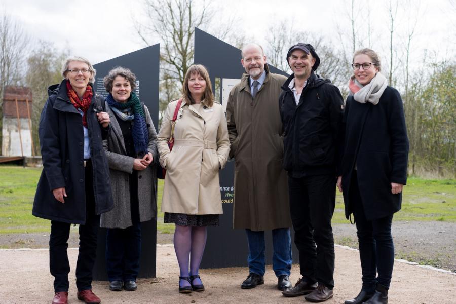 von links: Nina Holsten, Simone Wöhrner, Johanna Jürgensen, Michael Teßmer, Arne Petersen, Julia Werner